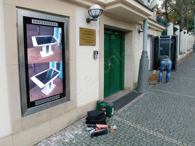 Instalace venkovních monitorů